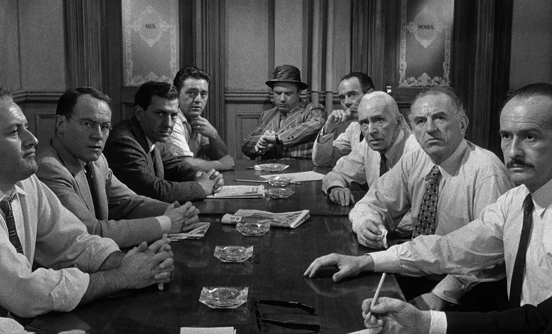 12 men in the jury 12 angry men is a 1957 american courtroom drama film adapted from a teleplay of the same name by reginald rose written and co-produced by rose himself and directed by sidney lumet, this.