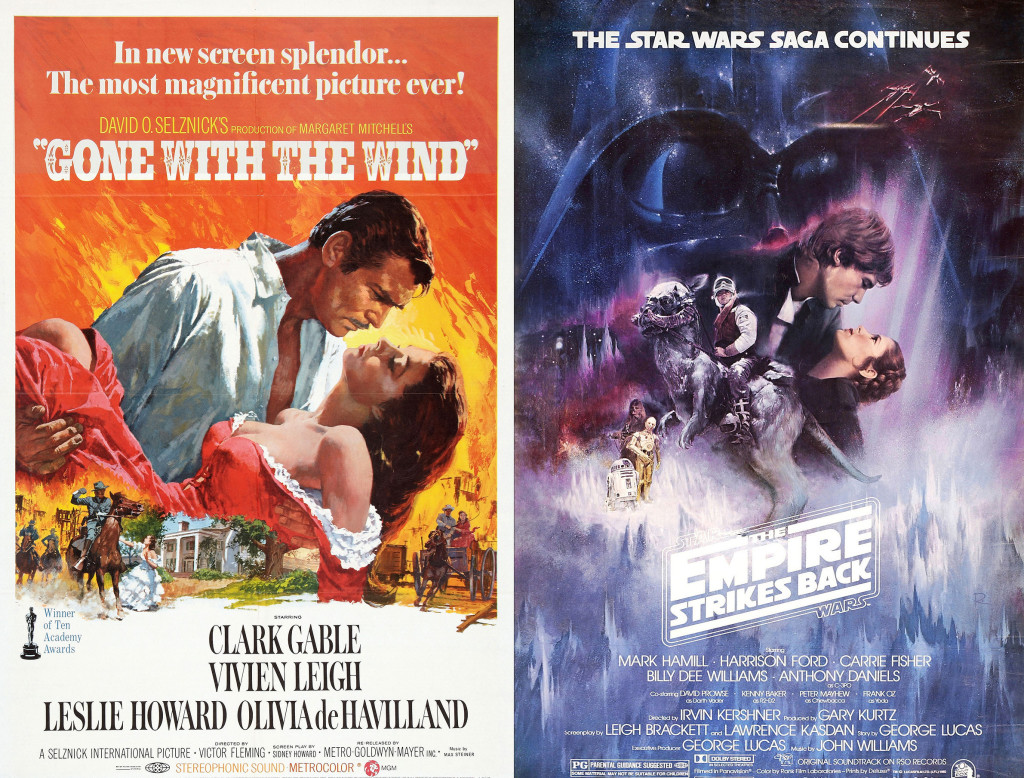 11-Gone with the Wind poster comparison