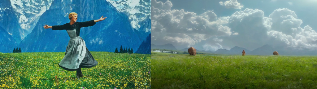 "From L to R: ""The Sound of Music"" (1965), ""Attack of the Clones"" (2002)"