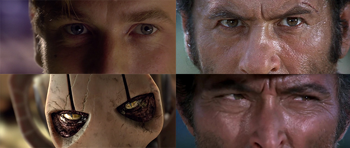 "From L to R: ""Revenge of the Sith"" (2005), ""The Good, the Bad, and the Ugly"" (1966)"