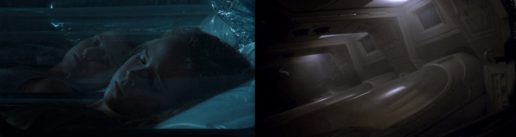 "From L to R: ""Aliens"" (1986), ""Alien3"" (1992)"