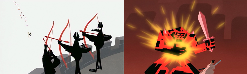 "From L to R: ""Jack and the Three Blind Archers,"" ""Jack and the Lava Monster"""