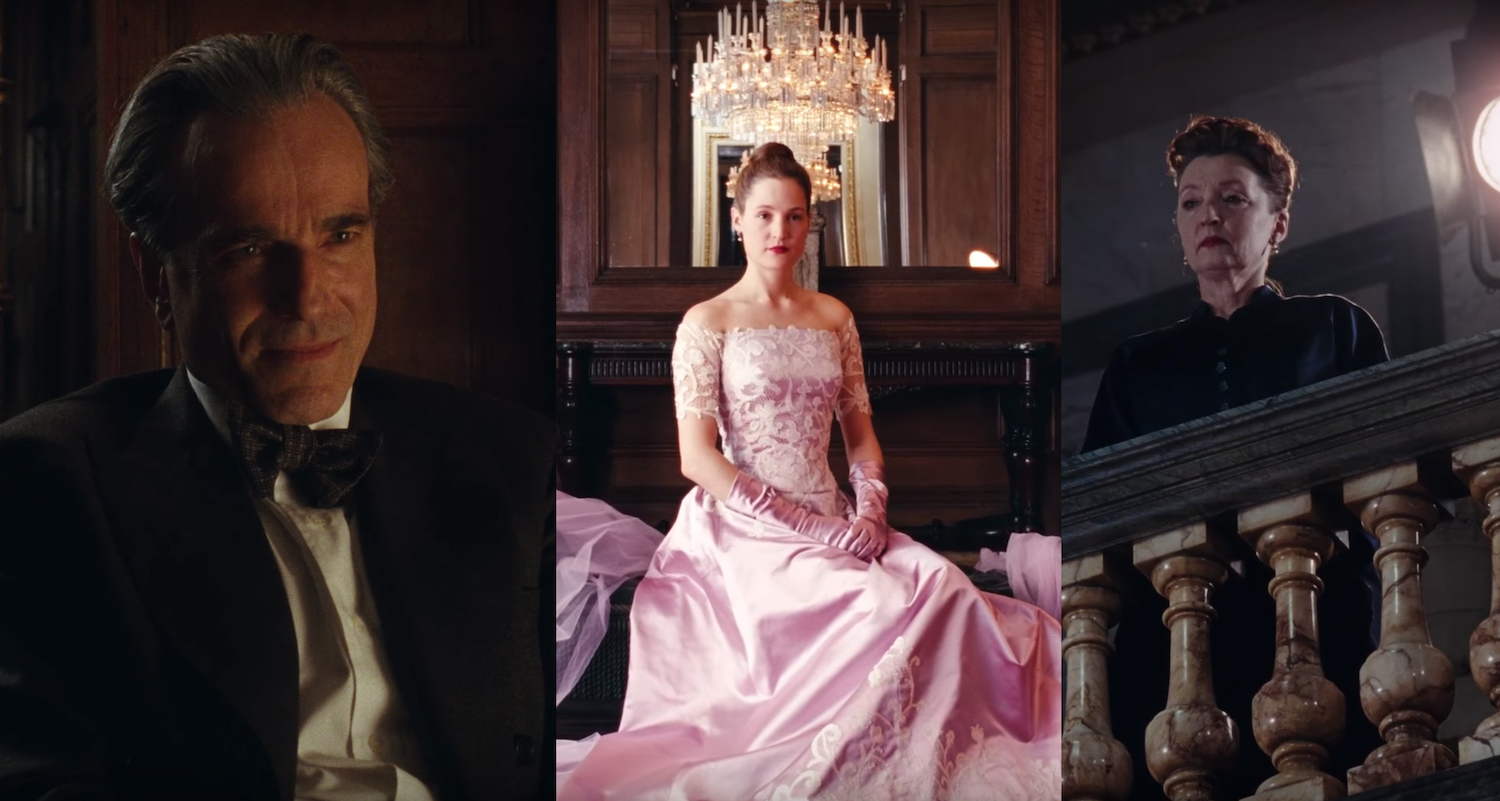 phantom thread triptych
