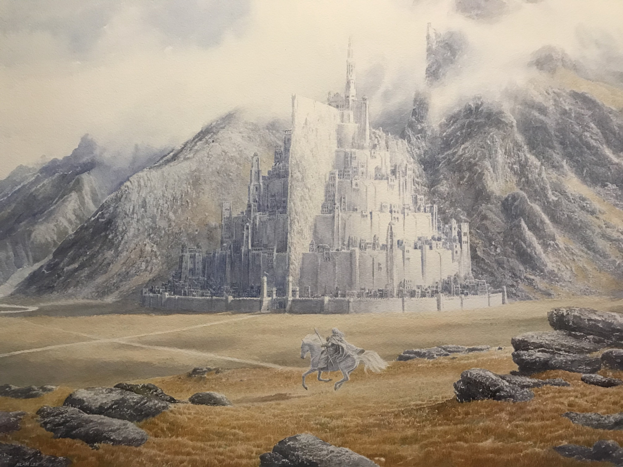 Painting from Alan Lee to put after that discussion