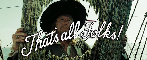 potc 33 - thats all folks