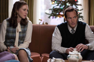 Patrick Wilson and Vera Farmiga as Ed and Lorraine Warren in The Conjuring 2