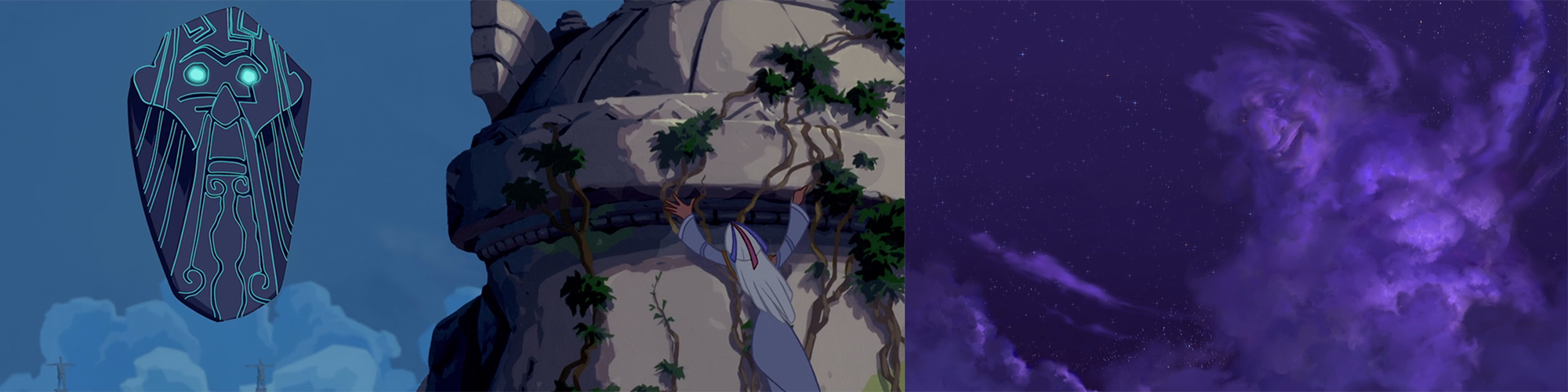 "From L to R: ""Atlantis: The Lost Empire"" (2001), ""Treasure Planet"" (2002)"